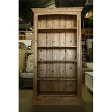 Waxed Pine Bookcase Product Categories Bookcases Kennedys Furniture Clacton On Sea