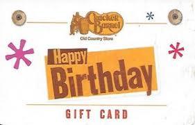 cracker barrel gift card gift card happy birthday cracker barrel united states of