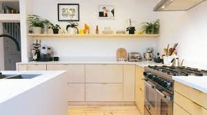 ikea furniture kitchen plykea hacks ikea s metod kitchens with plywood fronts
