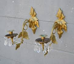 Crystal Candle Sconce Crystal Wall Sconce Home Depot Romantic Crystal Wall Sconces