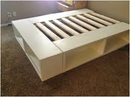 Cheap Bed Frame With Storage Size Bed Frame With Storage Plans Woodworking Pinterest