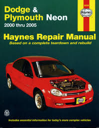 dodge u0026 plymouth neon 00 05 haynes repair manual haynes manuals