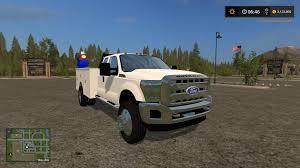 Ford F350 Service Truck - ford f550 service v1 fs 17 farming simulator 2017 17 mod ls