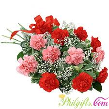 carnation bouquet philgifts multicolor carnations mlagift