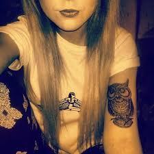 tattoo girl owl 31 best owl tattoos for girls images on pinterest owl tattoos