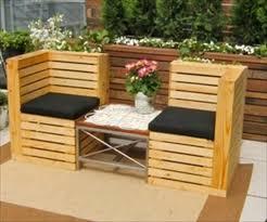 Diy Patio Bench by Pallet Patio Bench Ideas Pallets U0026 Woodworking Ideas Pinterest