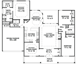one farmhouse one farmhouse with porch 5 bedroom house plans with wrap