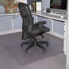 lorell 02156 economy low pile standard lip chairmat carpeted floor