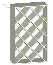 diy wine cabinet plans wine racks simple wine rack plans wine rack idea basic wine rack