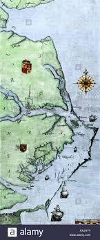 map of virginia and carolina white map of virginia and carolina coast where roanoke colony