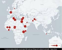 africa e asia mappa quel terrore jihadista in africa e asia che non fa notizia