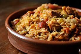 thankful for leftover turkey jambalaya recipe on food52