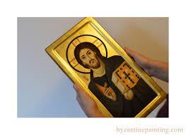 icon of jesus christ mount sinai byzantine icon painting