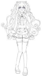 seeu lineart by miriki chi on deviantart