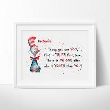 Dr Seuss Nursery Wall Decals by Dr Seuss Quote 4 Nursery Art Nursery And