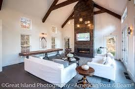 new england contemporary barn style american post u0026 beam