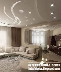 Latest Pop Designs For Living Room Ceiling Cream White Pop Ceiling - Living room ceiling design photos