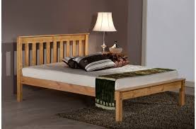 Santos Antique Pine Bed Frame Denver Bed Denver Solid Pine Bed Frame