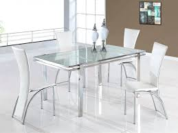 Glass Dining Sets 4 Chairs Glass Dining Table Sets Top Set Toronto With 4 Chairs Price And