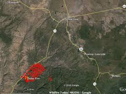 Show Me A Map Of Utah by Cedar Fire Near Show Low Arizona U2013 Wildfire Today