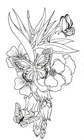 free printable flower patterns to color pattern coloring pages
