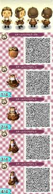 animal crossing new leaf qr code hairstyle animal crossing new leaf steampunk steam punk dress qr code