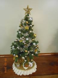 tabletop tree how toate small artificial