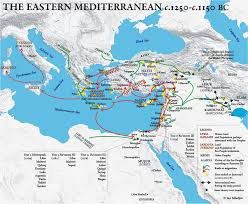 Map Of Mediterranean Sea The Sea Peoples History Weaponry And A Detailed List Of Their