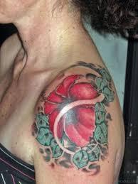 Big Flower Tattoos On - 51 hibiscus flower tattoos for shoulder