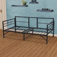 ebern designs mcintosh easy set up metal daybed frame u0026 reviews