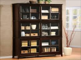small bookcase with glass doors bookcases storages u0026 shelves looking stunning black bookshelf