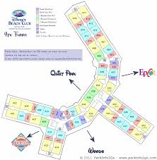 disney world beach club villas floor plan