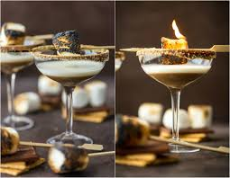gingerbread martini recipe this toasted s u0027more martini is as delicious as it is beautiful