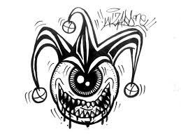 tutorial gambar joker joker drawing pictures at getdrawings com free for personal use