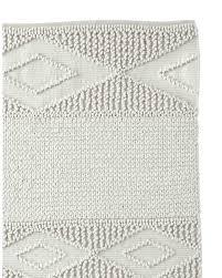 wool rug macramé wool rug swatch serena lily