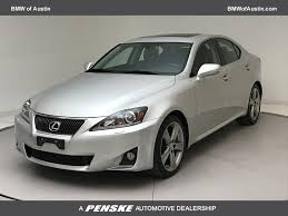 lexus cars 2012 2012 used lexus is 350 4dr sedan rwd at bmw of austin serving