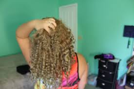 easy curling wand for permed hair how to get tight curls youtube