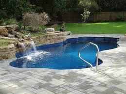 natural waterfall backyard pool ideas 2234 hostelgarden net