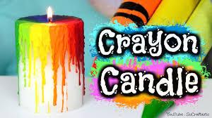 crayons halloween costume diy crayon drip candle melting crayons how to rainbow melt