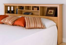 White Bookcase Headboard Full Queen Bookcase Headboard Home Design Ideas
