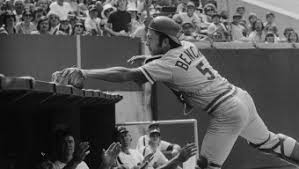 Johnny Bench Fingers Ortiz U0026 Rizzo Game 7 By The Players U0027 Tribune