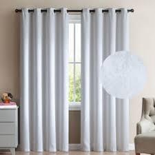 Window Length Curtains Blackout White Cotton Drapes
