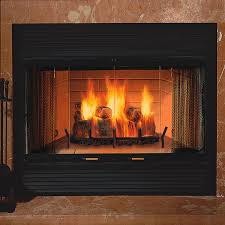 Fireplace Insert Screen by Sovereign Heat Circulating Wood Burning Fireplace 36