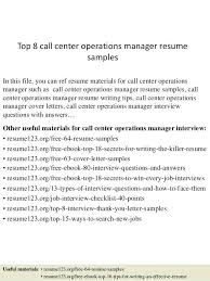 Operations Management Resume Sample Call Center Manager Resume U2013 Topshoppingnetwork Com
