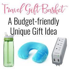 travel gift basket travel gift basket budget friendly gift ideas for the traveler