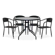 Patio Table And Chair Sets by Alfresco Patio Table U0026 4 Chair Set U2013 Urban Home