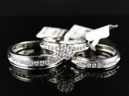wedding rings trio sets for cheap wedding rings matching gold wedding bands gold wedding ring sets