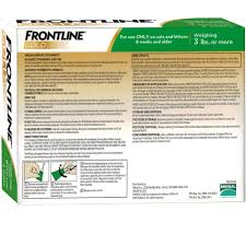 frontline gold for cats 6 month