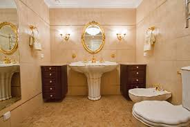 Gold Bathroom Decor by Red And Gold Bathroom
