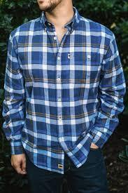 Flannel Shirts S Plaid Workshirt Flannel Glacier Plaid By Buffalo Jackson